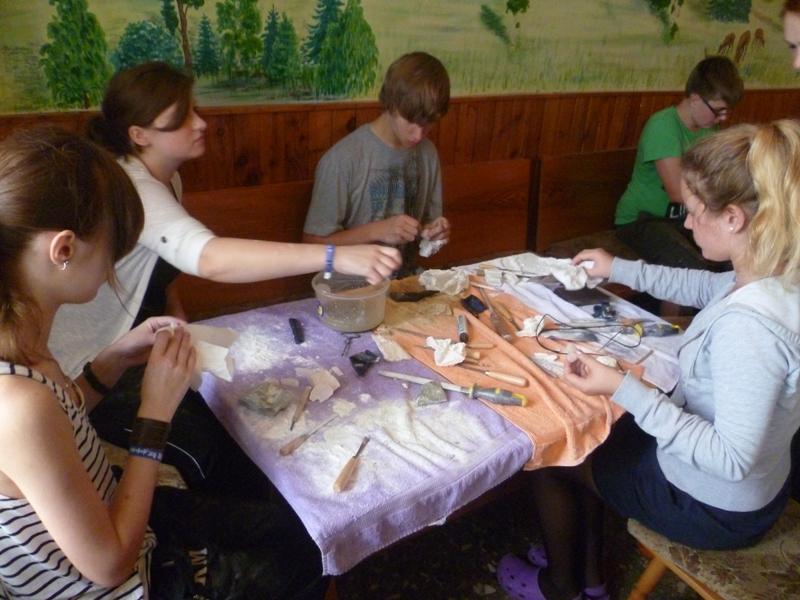 Workshop Specksteine gestalten